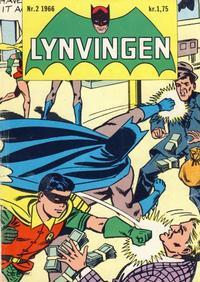 Cover Thumbnail for Lynvingen (Serieforlaget / Se-Bladene / Stabenfeldt, 1966 series) #2/1966