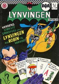 Cover Thumbnail for Lynvingen (Serieforlaget / Se-Bladene / Stabenfeldt, 1966 series) #4/1967
