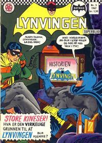 Cover Thumbnail for Lynvingen (Serieforlaget / Se-Bladene / Stabenfeldt, 1966 series) #5/1967