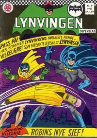 Cover Thumbnail for Lynvingen (Serieforlaget / Se-Bladene / Stabenfeldt, 1966 series) #9/1967