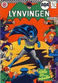 Cover Thumbnail for Lynvingen (Serieforlaget / Se-Bladene / Stabenfeldt, 1966 series) #11/1967