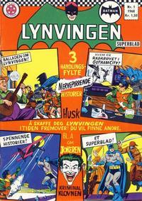 Cover Thumbnail for Lynvingen (Serieforlaget / Se-Bladene / Stabenfeldt, 1966 series) #1/1968
