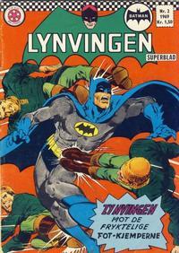Cover Thumbnail for Lynvingen (Serieforlaget / Se-Bladene / Stabenfeldt, 1966 series) #2/1969