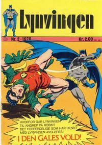 Cover Thumbnail for Lynvingen (Illustrerte Klassikere / Williams Forlag, 1969 series) #2/1970
