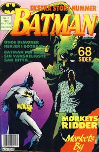 Cover Thumbnail for Batman (Semic, 1989 series) #7/1991