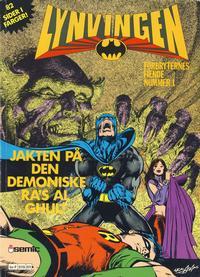 Cover Thumbnail for Lynvingen Jakten på den demoniske Ra's Al Ghul! (Semic, 1979 series)