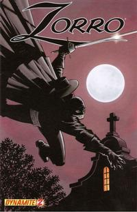 Cover Thumbnail for Zorro (Dynamite Entertainment, 2008 series) #2 [Matt Wagner Cover]