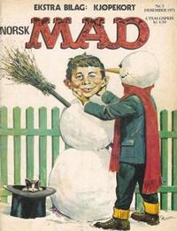 Cover Thumbnail for Norsk Mad (Illustrerte Klassikere / Williams Forlag, 1971 series) #5/1971