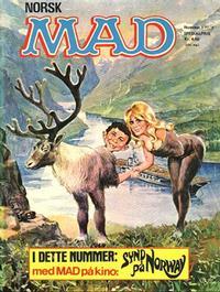 Cover Thumbnail for Norsk Mad (Illustrerte Klassikere / Williams Forlag, 1971 series) #1/1972