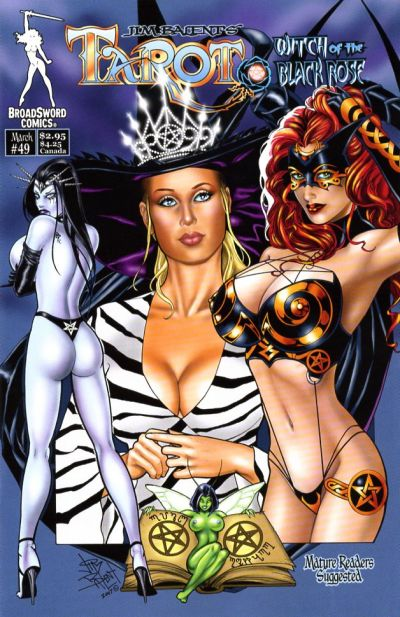 Cover for Tarot: Witch of the Black Rose (Broadsword, 2000 series) #49 [Cover C]