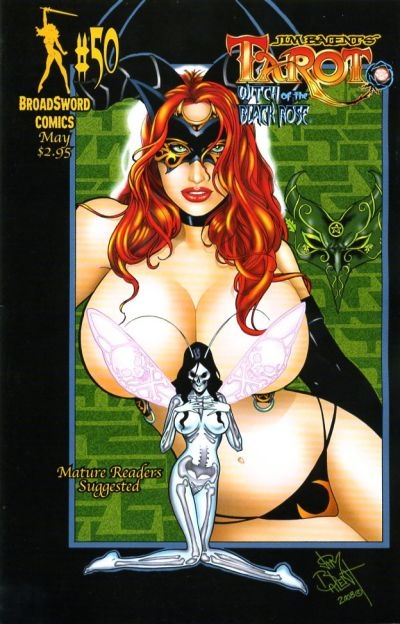 Cover for Tarot: Witch of the Black Rose (Broadsword, 2000 series) #50 [Cover A]