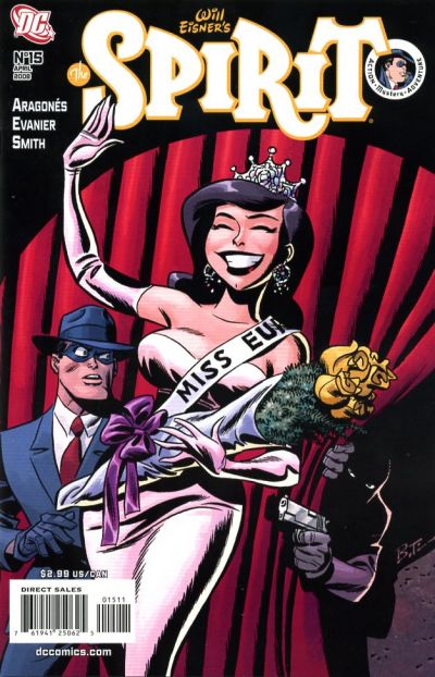 Cover for The Spirit (DC, 2007 series) #15