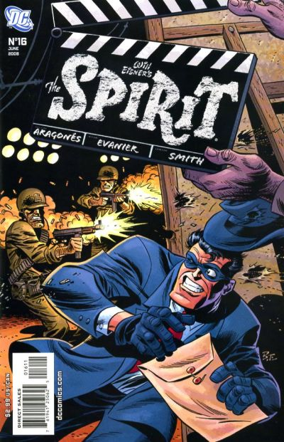 Cover for The Spirit (DC, 2007 series) #16