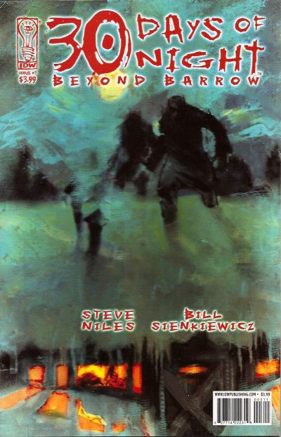 Cover for 30 Days of Night: Beyond Barrow (IDW, 2007 series) #3