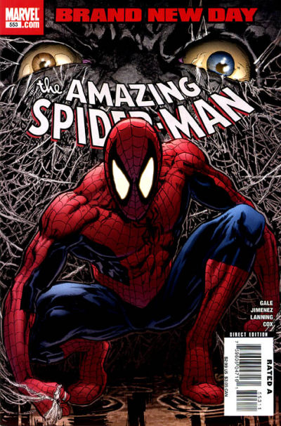 Cover for The Amazing Spider-Man (Marvel, 1999 series) #553