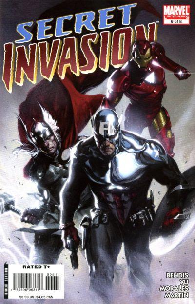 Cover for Secret Invasion (Marvel, 2008 series) #6 [Frank Cho Limited Variant]