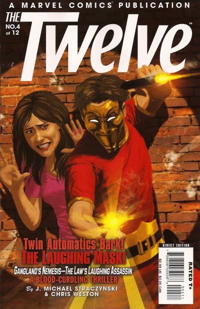 Cover for The Twelve (Marvel, 2008 series) #4