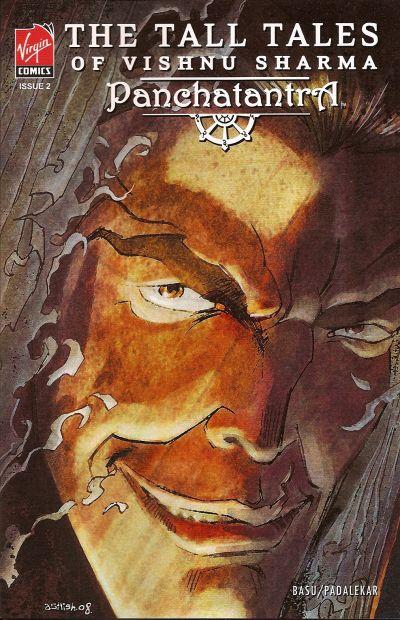 Cover for The Tall Tales of Vishnu Sharma: Panchatantra (Virgin, 2007 series) #2