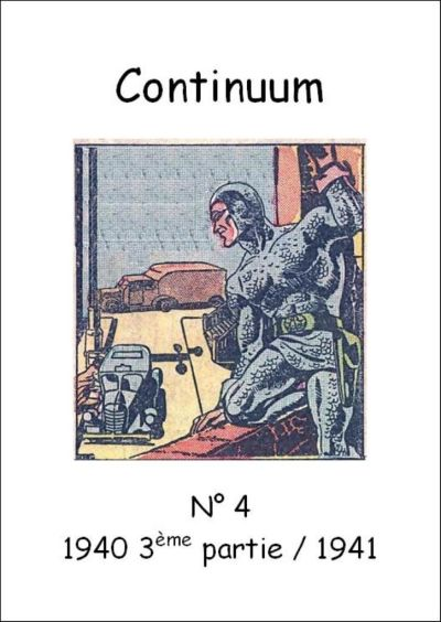 Cover for Continuum (JMF, 2007 series) #4