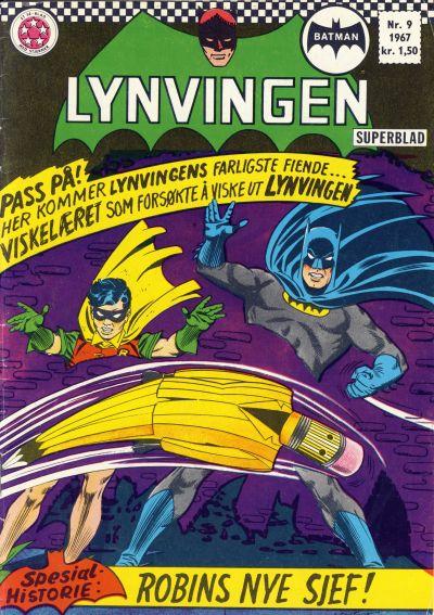 Cover for Lynvingen (Serieforlaget / Se-Bladene / Stabenfeldt, 1966 series) #9/1967