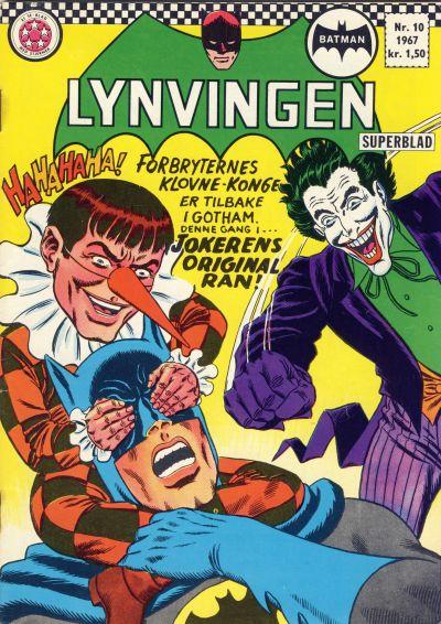 Cover for Lynvingen (Serieforlaget / Se-Bladene / Stabenfeldt, 1966 series) #10/1967