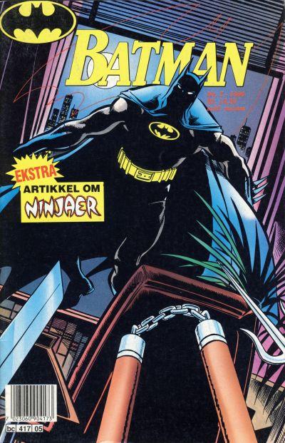 Cover for Batman (Semic, 1989 series) #5/1990