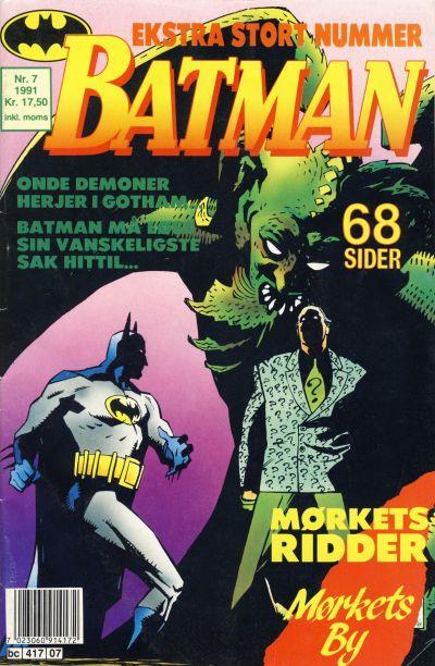 Cover for Batman (Semic, 1989 series) #7/1991