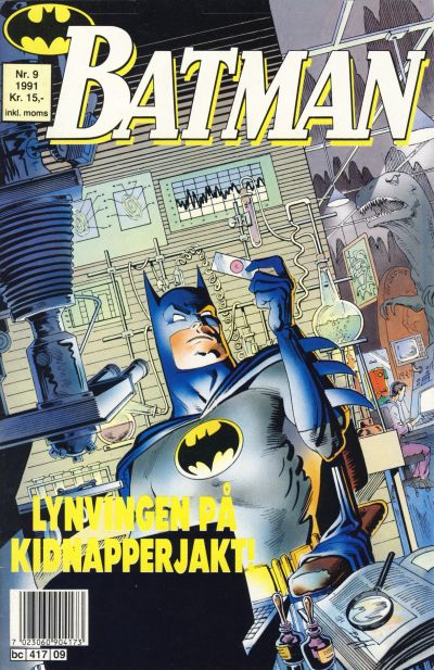 Cover for Batman (Semic, 1989 series) #9/1991