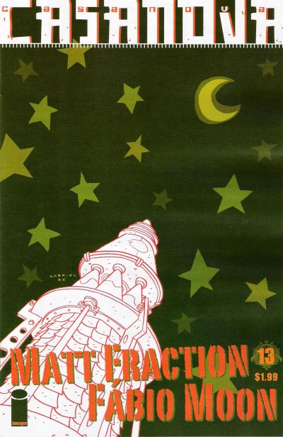 Cover for Casanova (Image, 2006 series) #13
