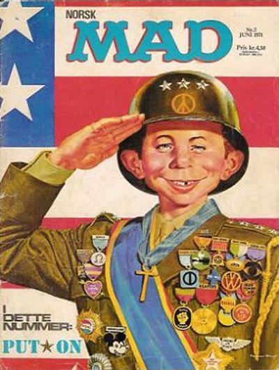 Cover for Norsk Mad (Illustrerte Klassikere / Williams Forlag, 1971 series) #2/1971