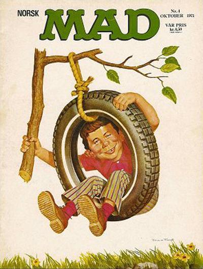 Cover for Norsk Mad (Illustrerte Klassikere / Williams Forlag, 1971 series) #4/1971