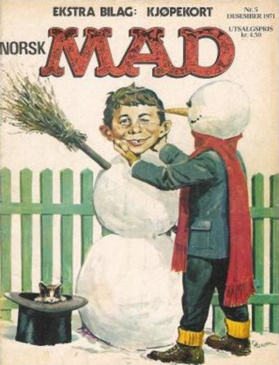 Cover for Norsk Mad (Illustrerte Klassikere / Williams Forlag, 1971 series) #5/1971
