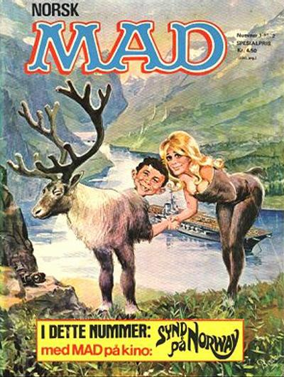 Cover for Norsk Mad (Illustrerte Klassikere / Williams Forlag, 1971 series) #1/1972