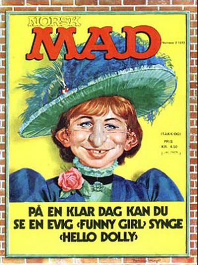 Cover for Norsk Mad (Illustrerte Klassikere / Williams Forlag, 1971 series) #2/1972