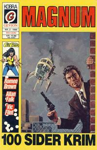 Cover for Magnum (Gevion, 1986 series) #2/1986
