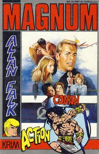 Cover Thumbnail for Magnum (Gevion, 1986 series) #8/1987