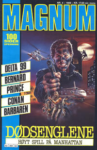 Cover Thumbnail for Magnum (Bladkompaniet / Schibsted, 1988 series) #4/1989
