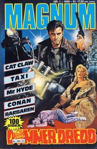 Cover Thumbnail for Magnum (Bladkompaniet / Schibsted, 1988 series) #1/1990