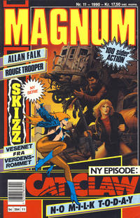Cover Thumbnail for Magnum (Bladkompaniet / Schibsted, 1988 series) #11/1990