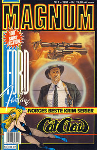 Cover for Magnum (Bladkompaniet, 1988 series) #7/1991