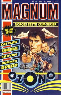 Cover Thumbnail for Magnum (Bladkompaniet, 1988 series) #13/1991