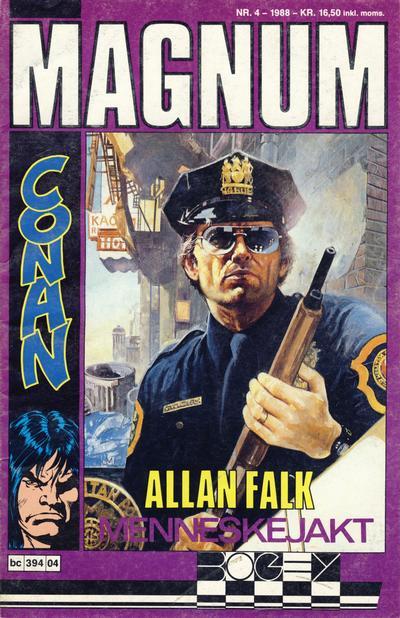 Cover for Magnum (Bladkompaniet, 1988 series) #4/1988