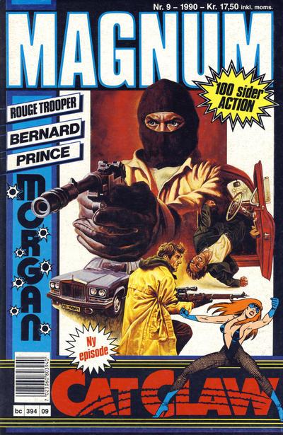 Cover for Magnum (Bladkompaniet, 1988 series) #9/1990