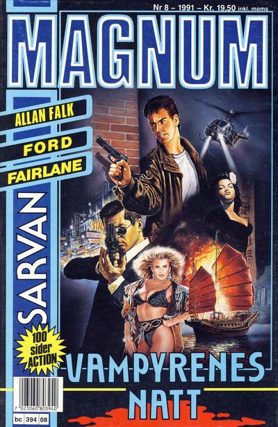 Cover for Magnum (Bladkompaniet, 1988 series) #8/1991