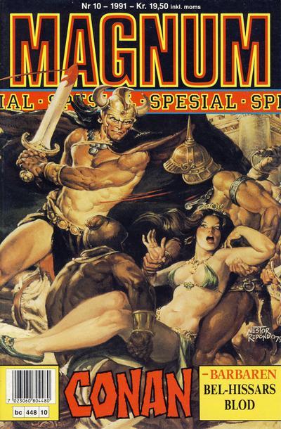 Cover for Magnum Spesial (Bladkompaniet / Schibsted, 1988 series) #10/1991