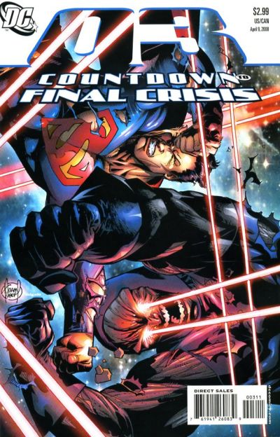 Cover for Countdown (DC, 2007 series) #3