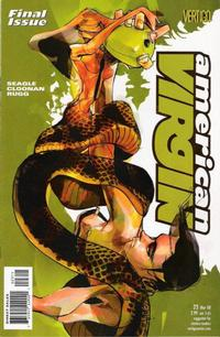 Cover Thumbnail for American Virgin (DC, 2006 series) #23