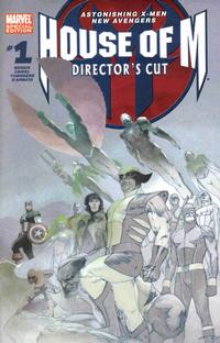 Cover Thumbnail for House of M 1 (Director's Cut) (Marvel, 2005 series)