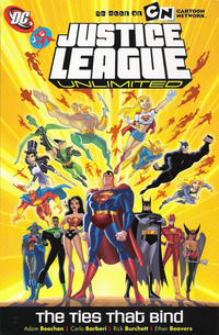 Cover Thumbnail for Justice League Unlimited: The Ties That Bind (DC, 2008 series)