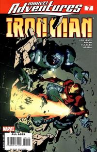 Cover Thumbnail for Marvel Adventures Iron Man (Marvel, 2007 series) #7